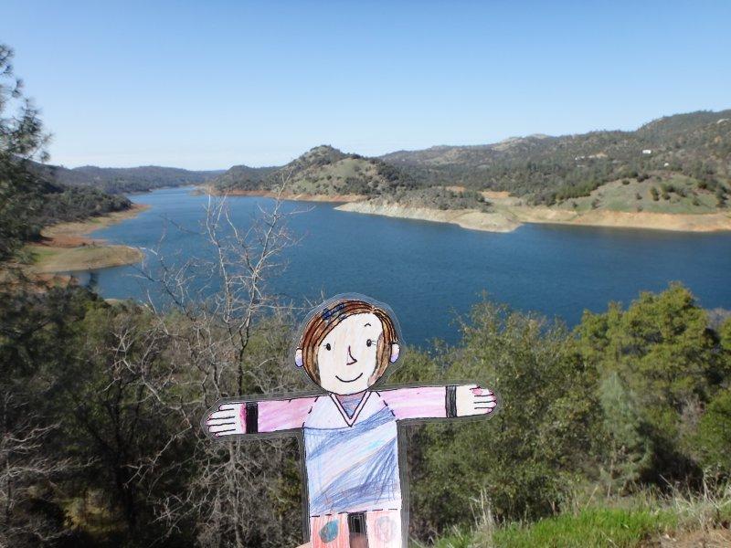 Stanley at Lake Don Pedro